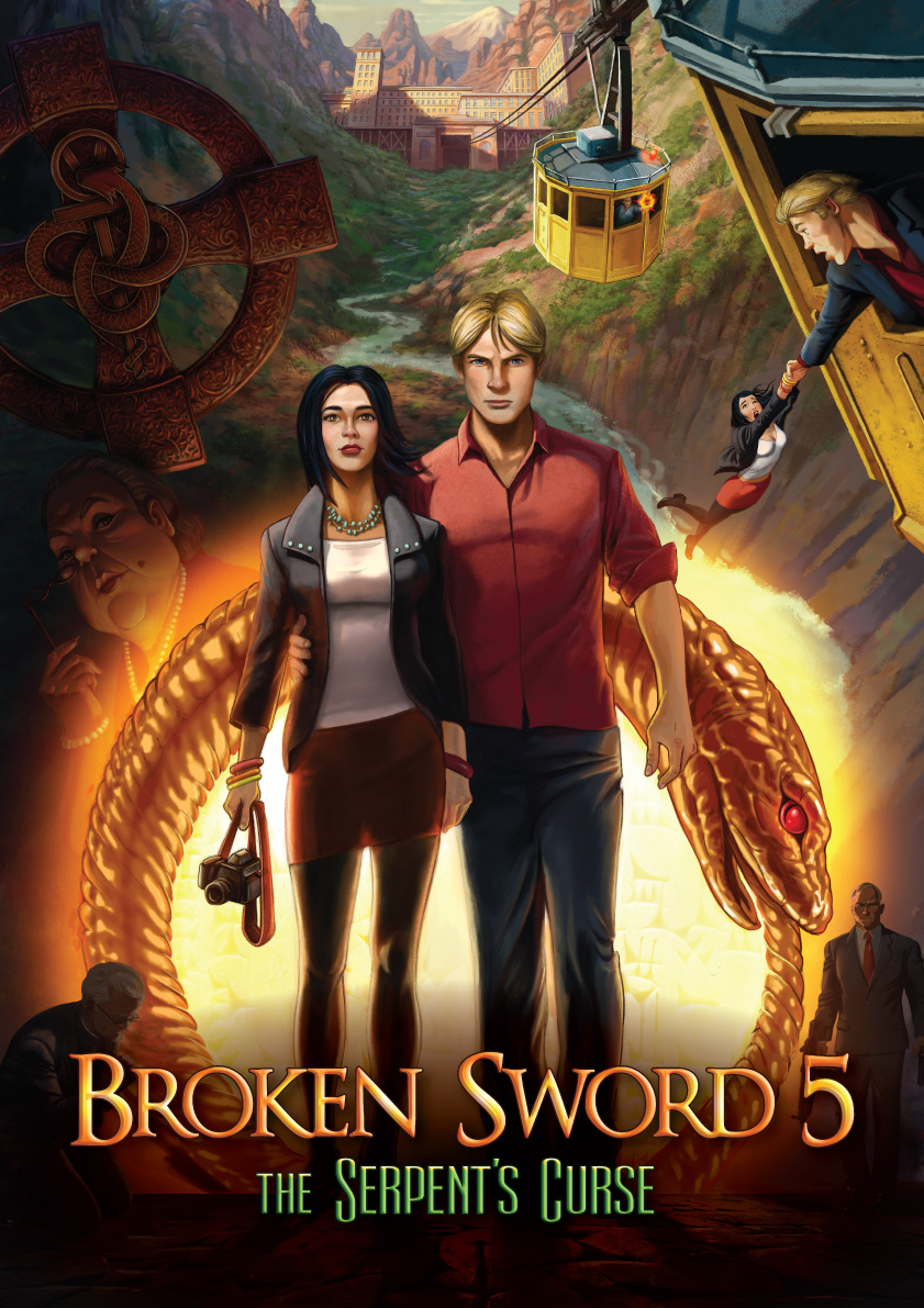 Poster Broken Sword 5: The Serpent's Curse. Episode One & Two (2014)