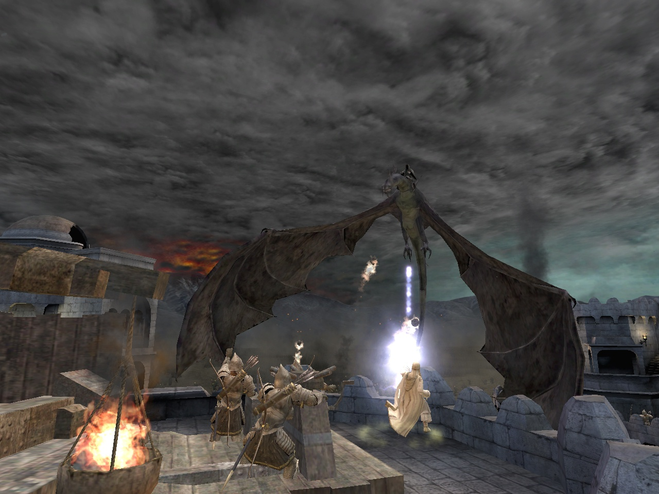 Screenshot for the game Lord Of The Rings: The Return of the King (2003) PC | RePack от R.G. Механики