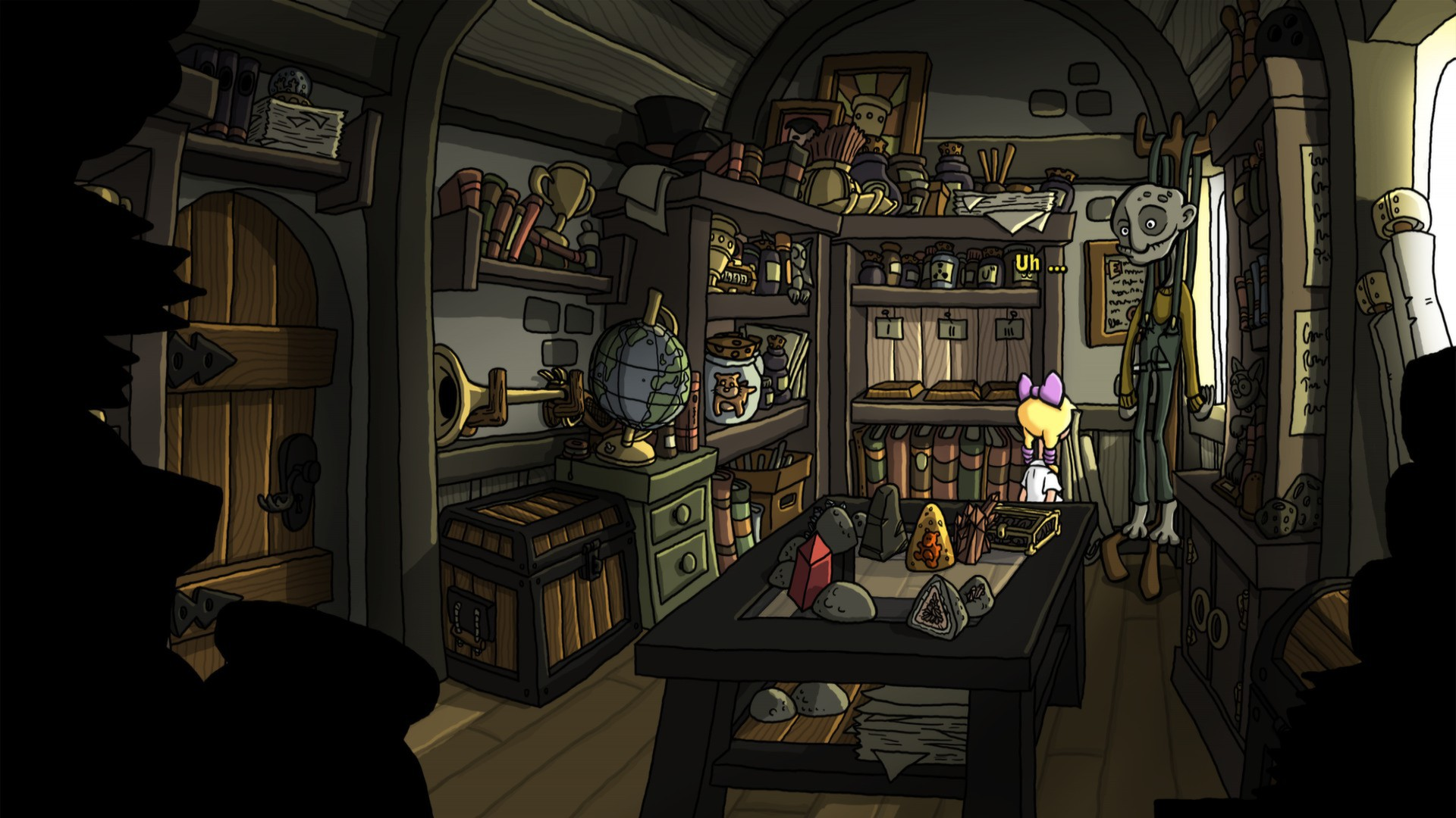 Screenshot for the game Эдна и Харви - Дилогия / Edna and Harvey - Dilogy (2008-2012) PC | RePack от R.G. Механики