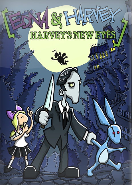 Cover Эдна и Харви - Дилогия / Edna and Harvey - Dilogy (2008-2012) PC | RePack от R.G. Механики