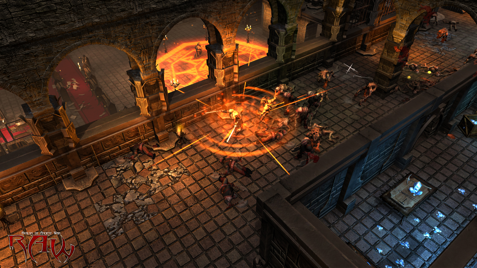 Screenshot for the game R.A.W.: Realms of Ancient War (2012) PC | RePack от R.G. Механики