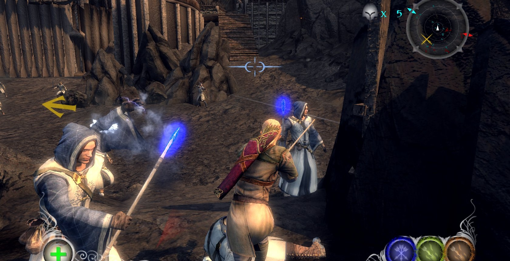 Screenshot for the game Lord Of The Rings: Conquest (2009) РС | RePack от R.G. Механики