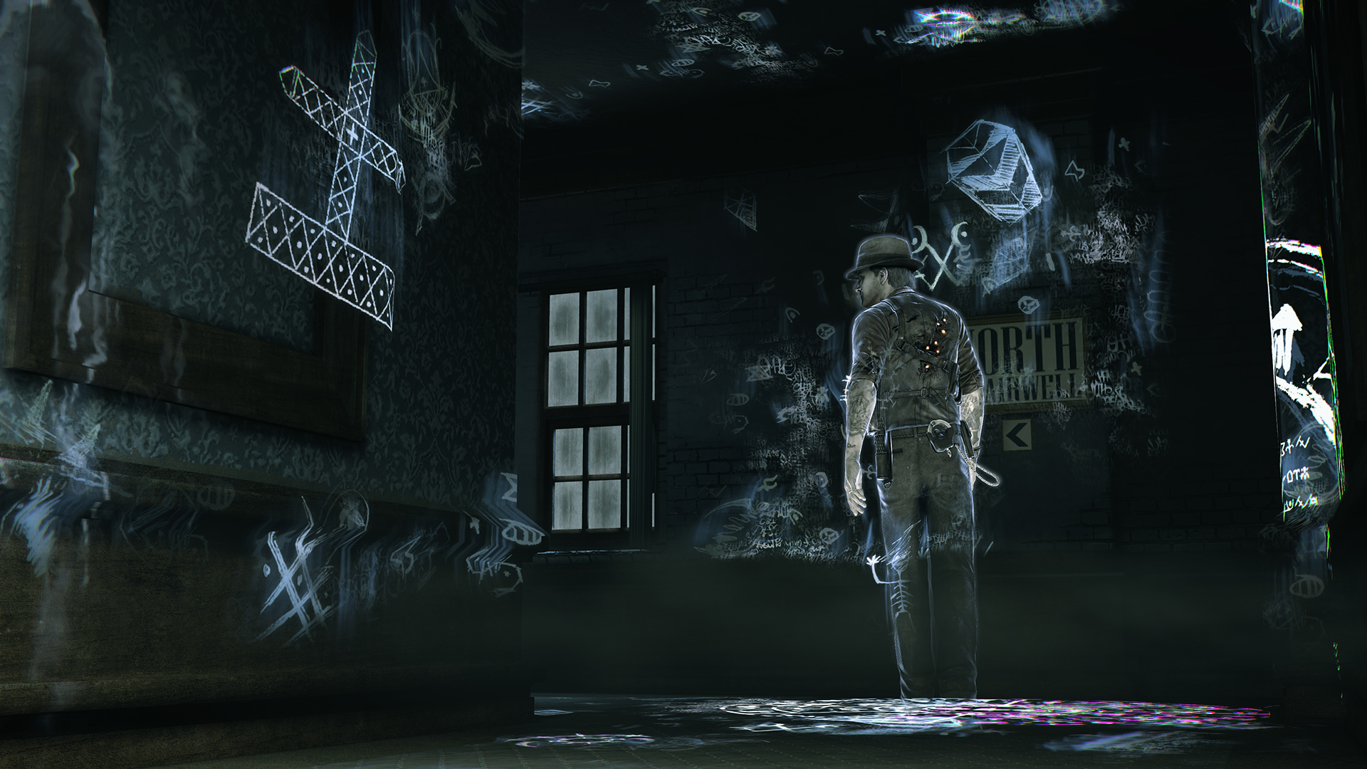 Screenshot for the game Murdered: Soul Suspect (2014) PC | RePack by R.G. The mechanics