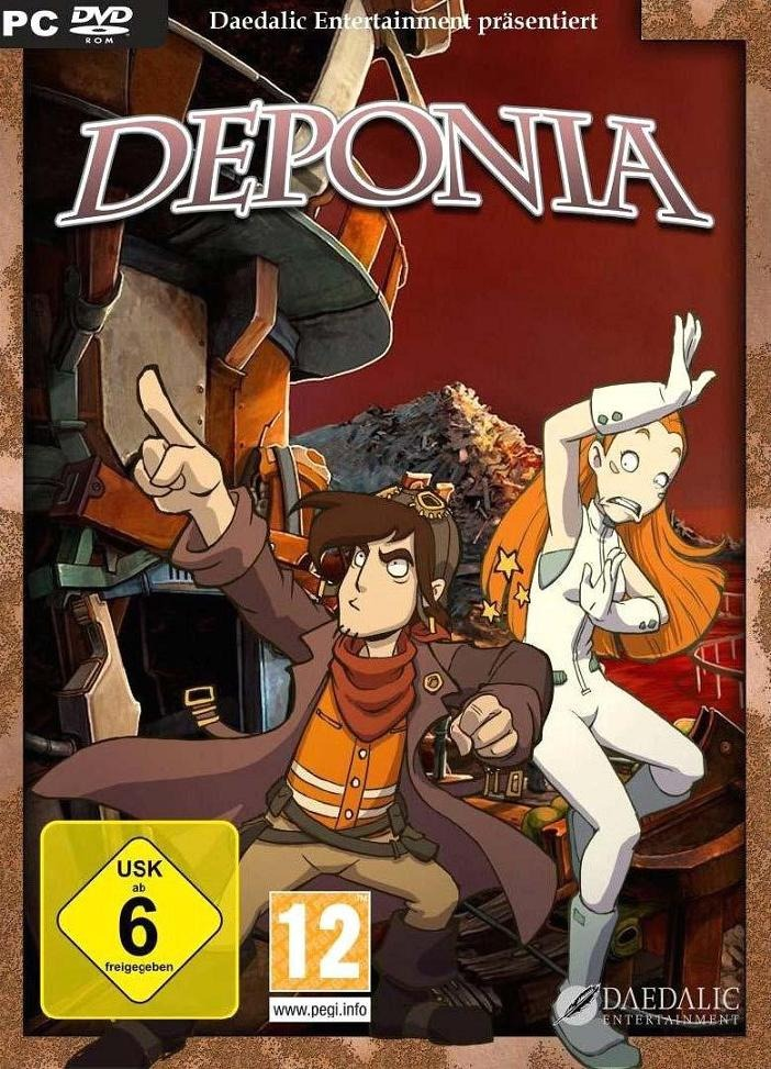 Cover Deponia - Trilogy (2012-2013) PC | RePack от R.G. Механики