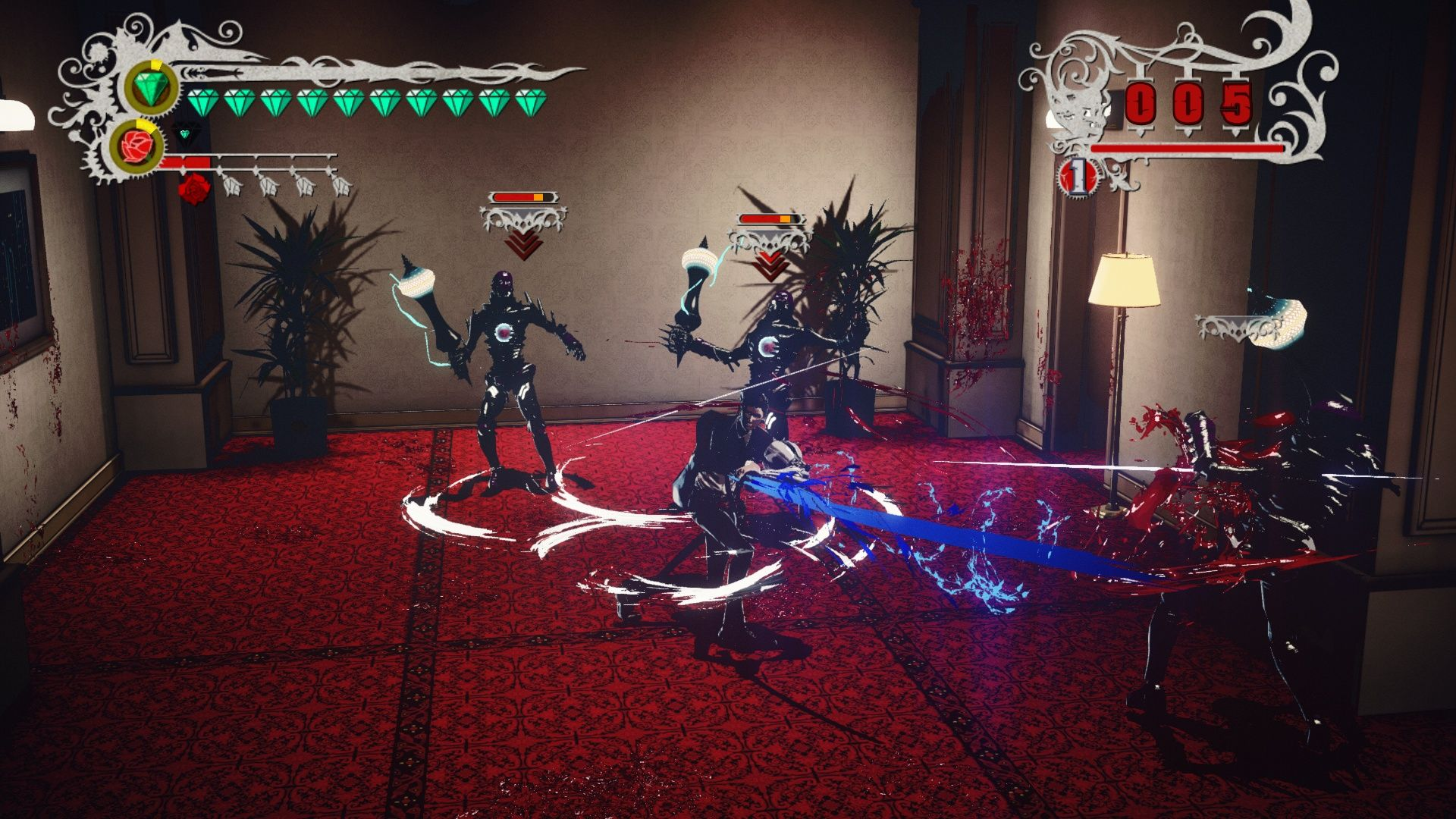 Screenshot for the game Killer is Dead - Nightmare Edition (2014) PC | RePack от R.G. Механики