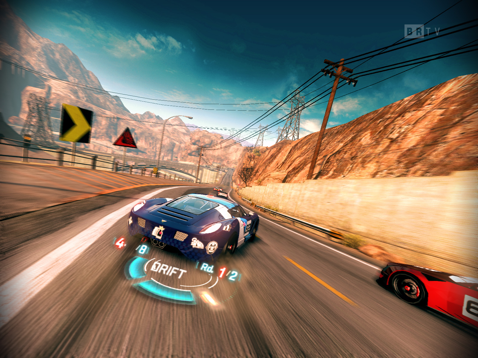 Screenshot for the game Split Second: Velocity (2010) PC | RePack от R.G. Механики