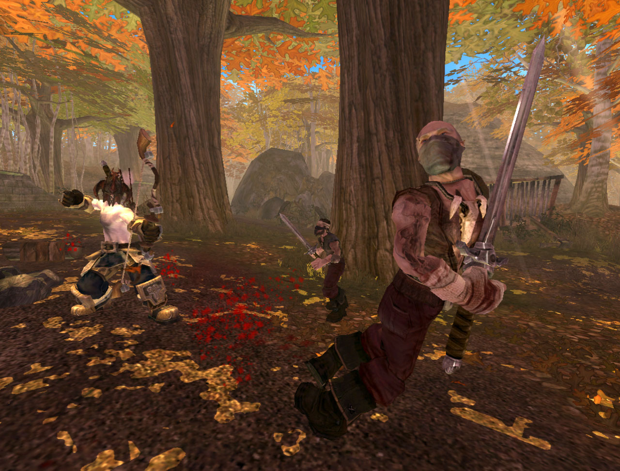 Screenshot for the game Fable - The Lost Chapters (2005) PC | RePack от R.G. Механики