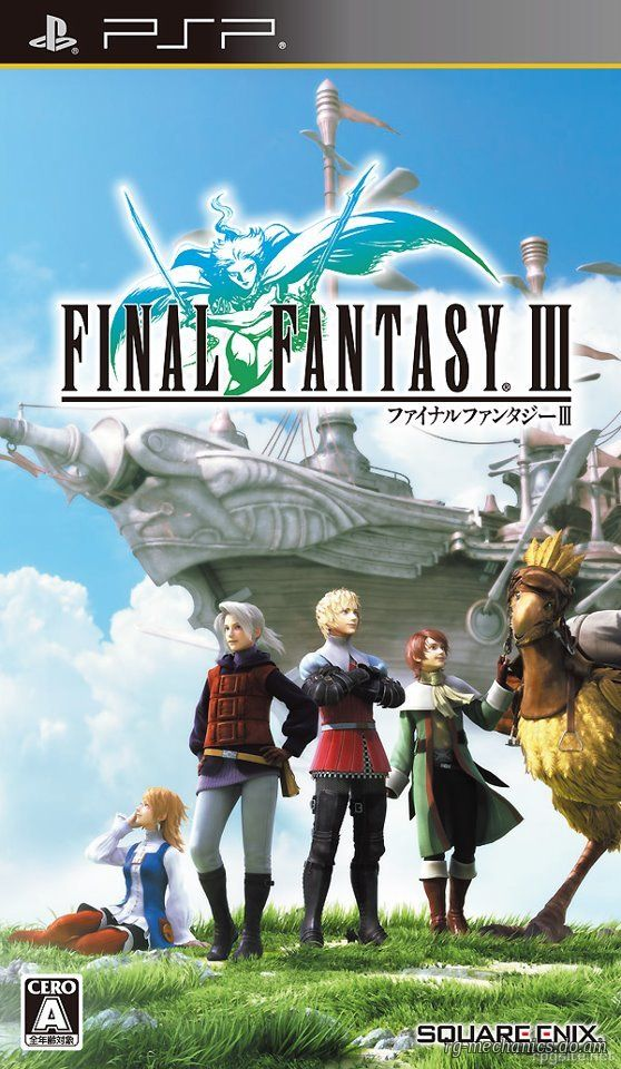Cover Final Fantasy III (2014) PC | RePack от R.G. Механики