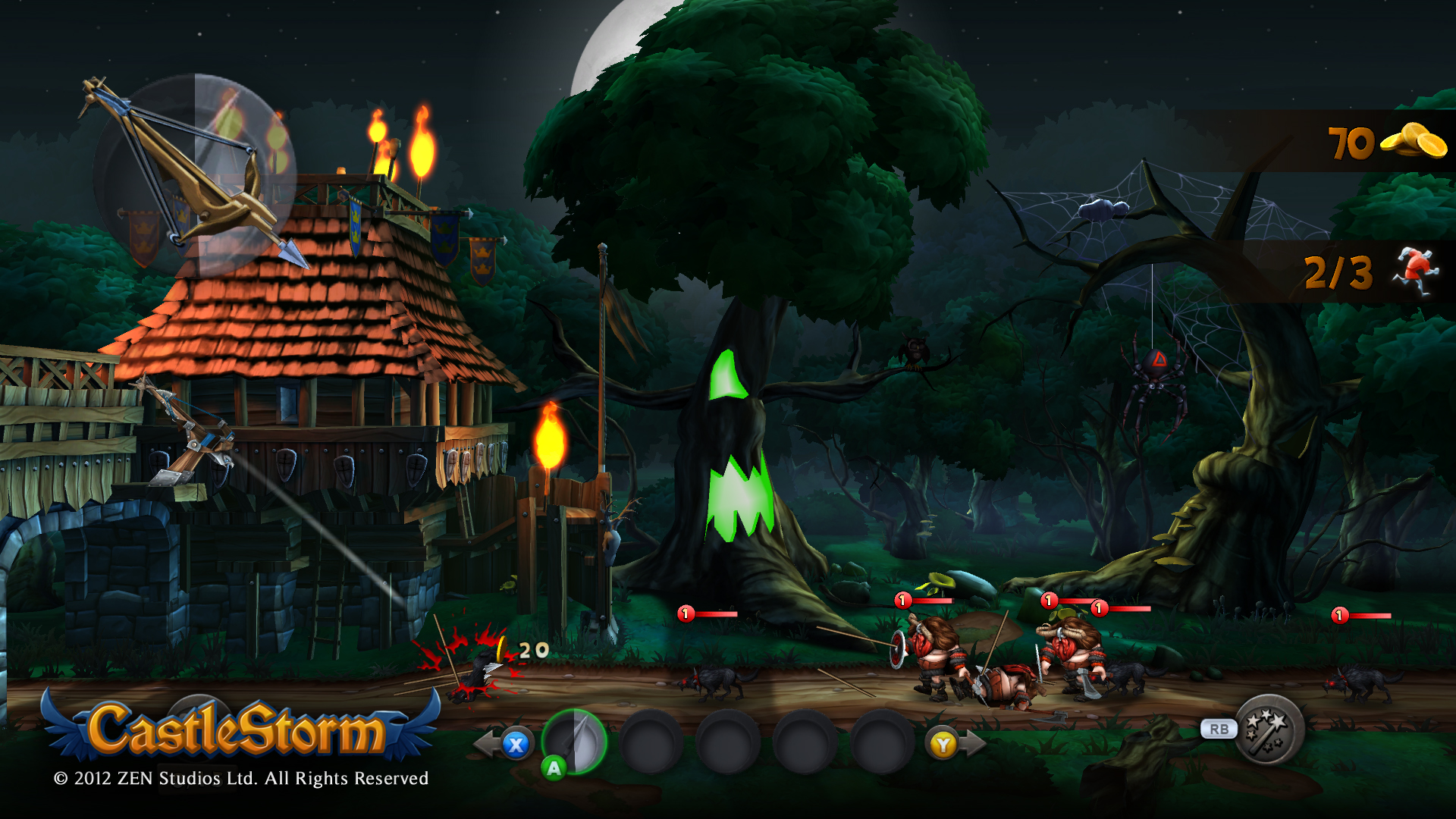 Screenshot for the game CastleStorm (2013) PC | RePack от R.G. Механики