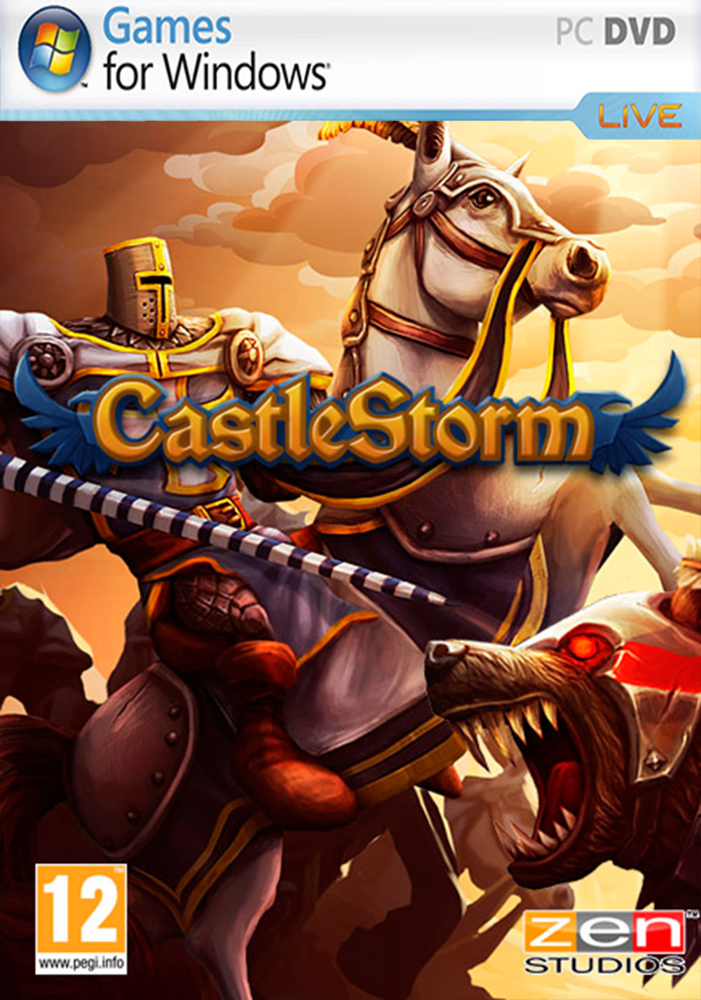 Cover CastleStorm (2013) PC | RePack от R.G. Механики