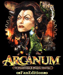Poster Arcanum: Of Steamworks and Magick Obscura (2001)