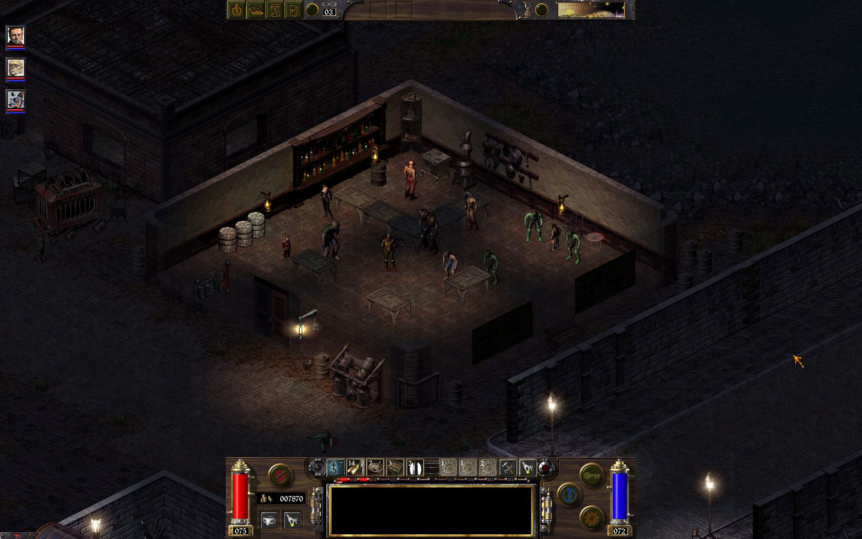 Screenshot for the game Arcanum: Of Steamworks and Magick Obscura (2001) PC | RePack от R.G. Механики