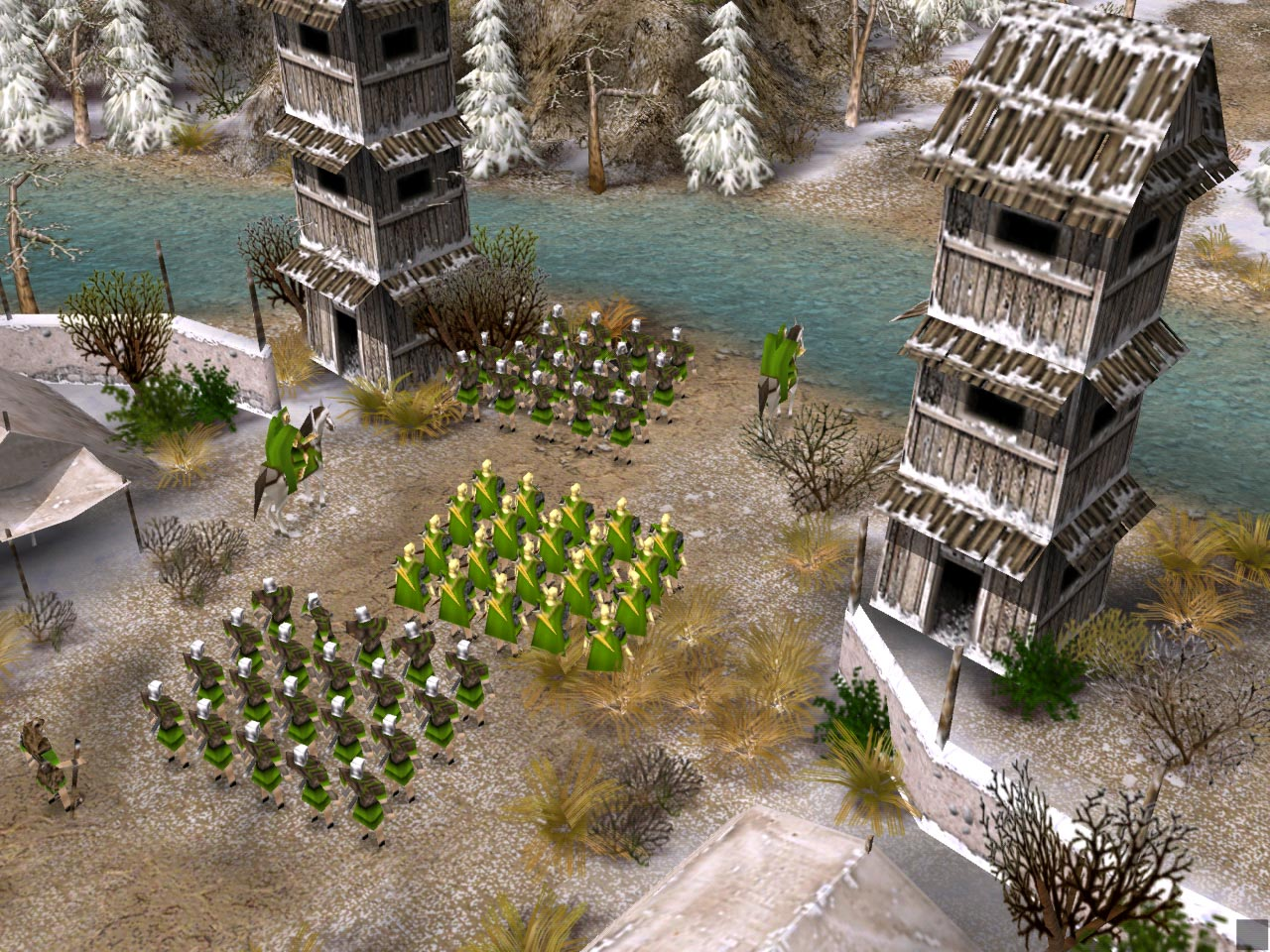 Screenshot for the game Преторианцы / Praetorians (2003) PC | RePack от R.G. Механики