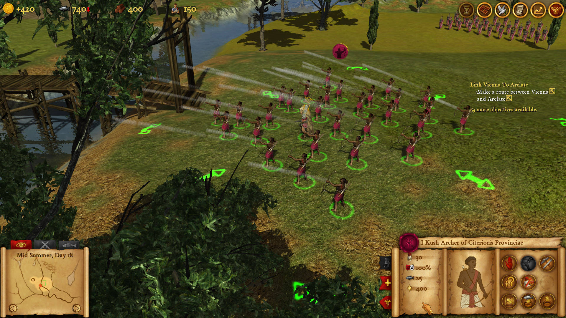 Screenshot for the game Hegemony Rome: The Rise of Caesar (2014) PC | RePack от R.G. Механики
