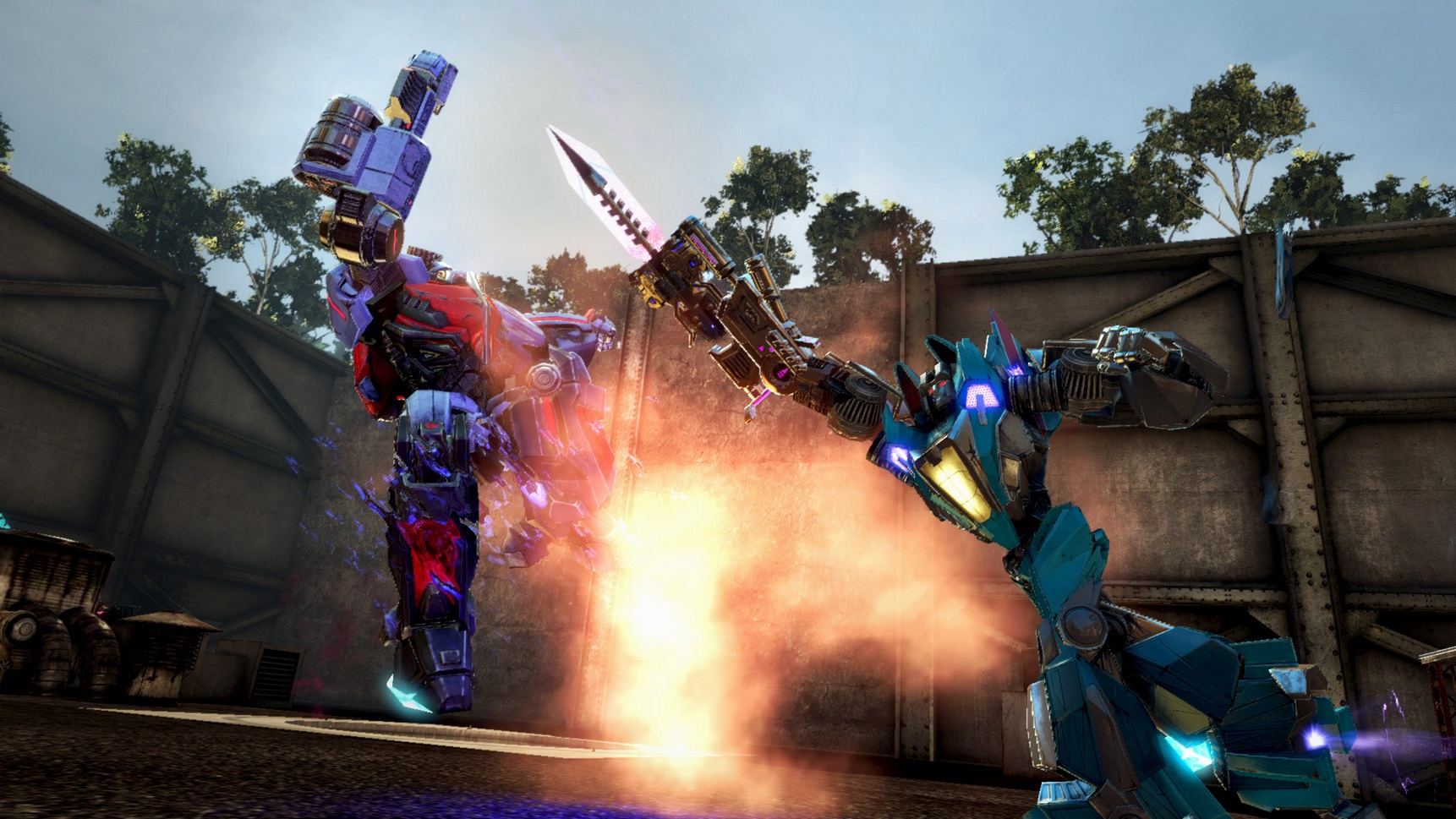 Screenshot for the game Transformers: Rise of the Dark Spark (2014) PC | RePack от R.G. Механики