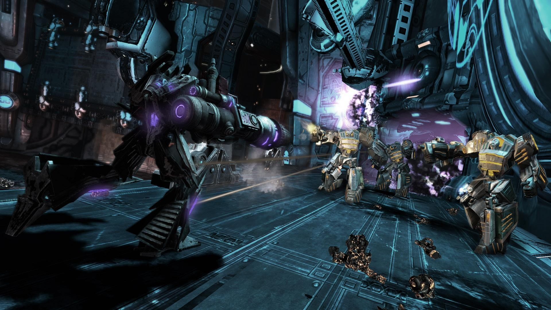 Screenshot for the game Трансформеры: Битва за Кибертрон / Transformers: War for Cybertron (2010) PC | Rip от R.G. Механики