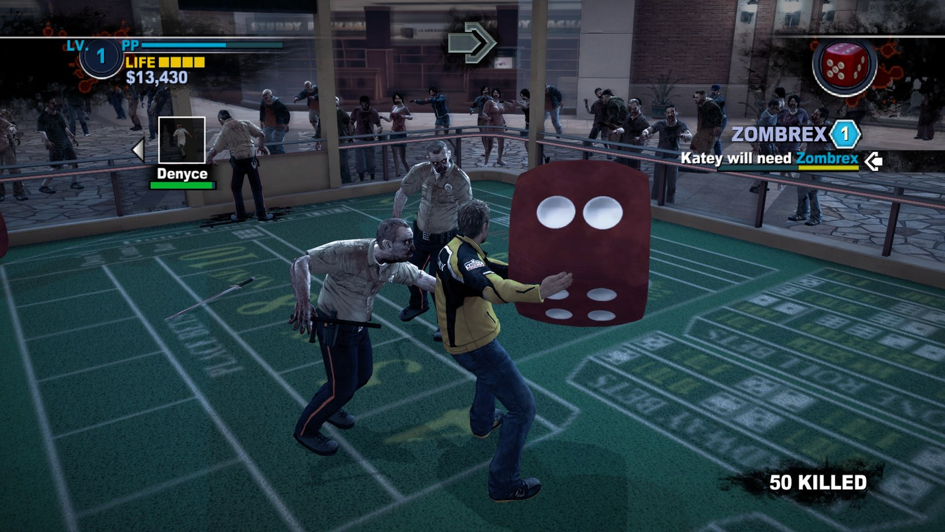 Screenshot for the game Dead Rising 2 (2010) PC | Rip от R.G. Механики