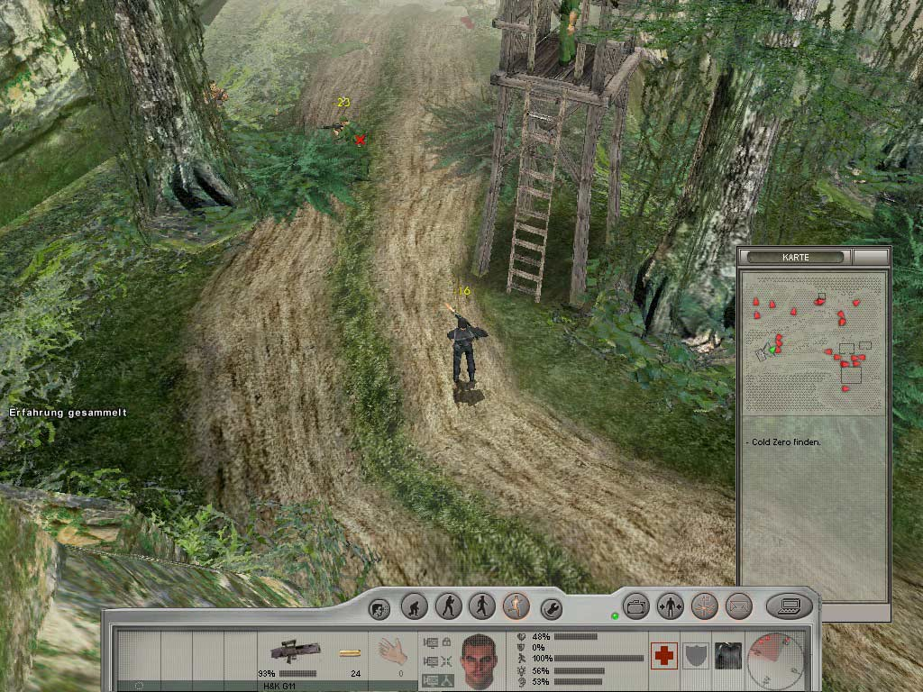 Screenshot for the game Cold Zero: Финальный отчет / Cold Zero: The Last Stand (2003) PC | RePack от R.G. Механики