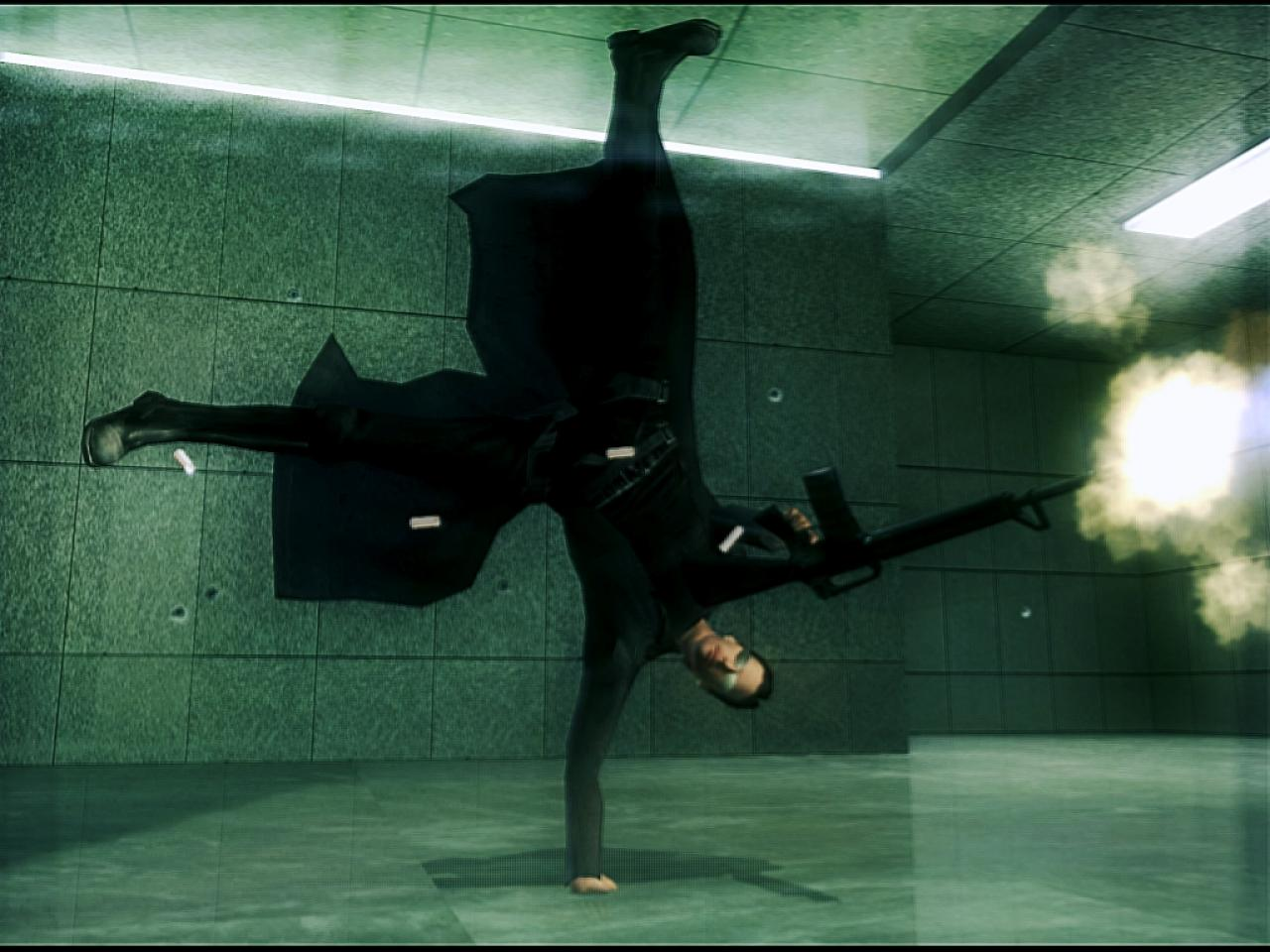 Screenshot for the game The Matrix: Dilogy (2003-2005) PC | RePack от R.G. Механики