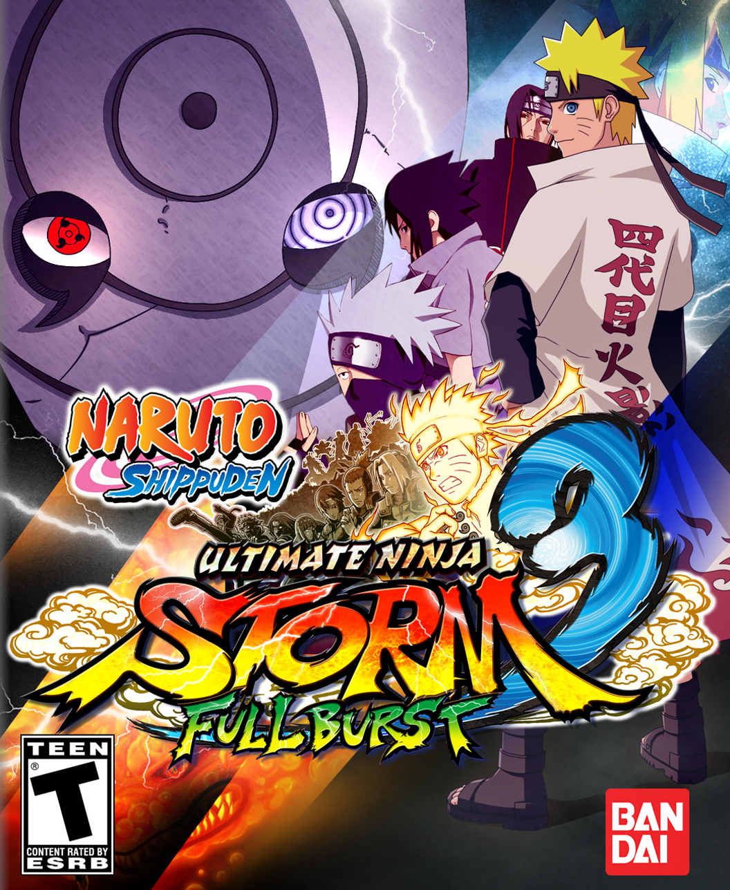 Cover NARUTO SHIPPUDEN: Ultimate Ninja STORM 3 Full Burst (2013) РС | RePack от R.G. Механики