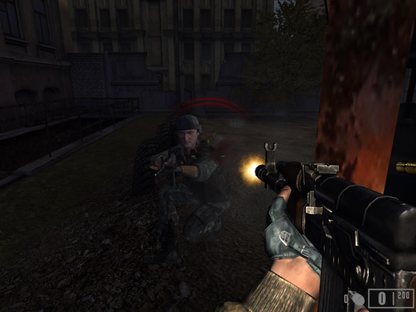 Screenshot for the game Миротворец / Peacemaker (2009) PC | RePack от R.G. Механики