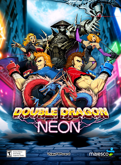 Poster Double Dragon: Neon (2014)