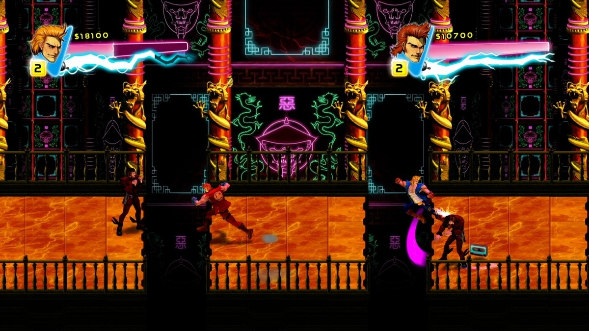 Screenshot for the game Double Dragon: Neon (2014) PC | RePack от R.G. Механики