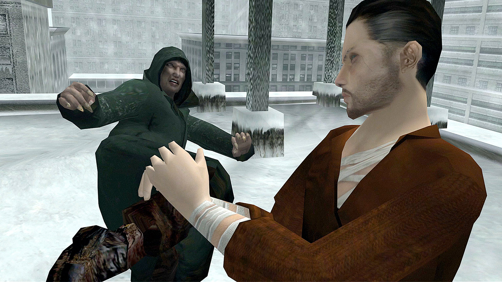 Screenshot for the game Fahrenheit: Indigo Prophecy Remastered [Update 1] (2015) PC | RePack от R.G. Механики