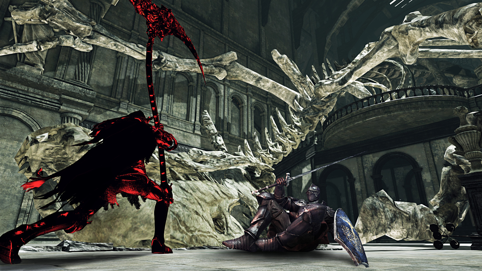 Screenshot for the game Dark Souls - Дилогия (2014-2015) PC | RePack от R.G. Механики