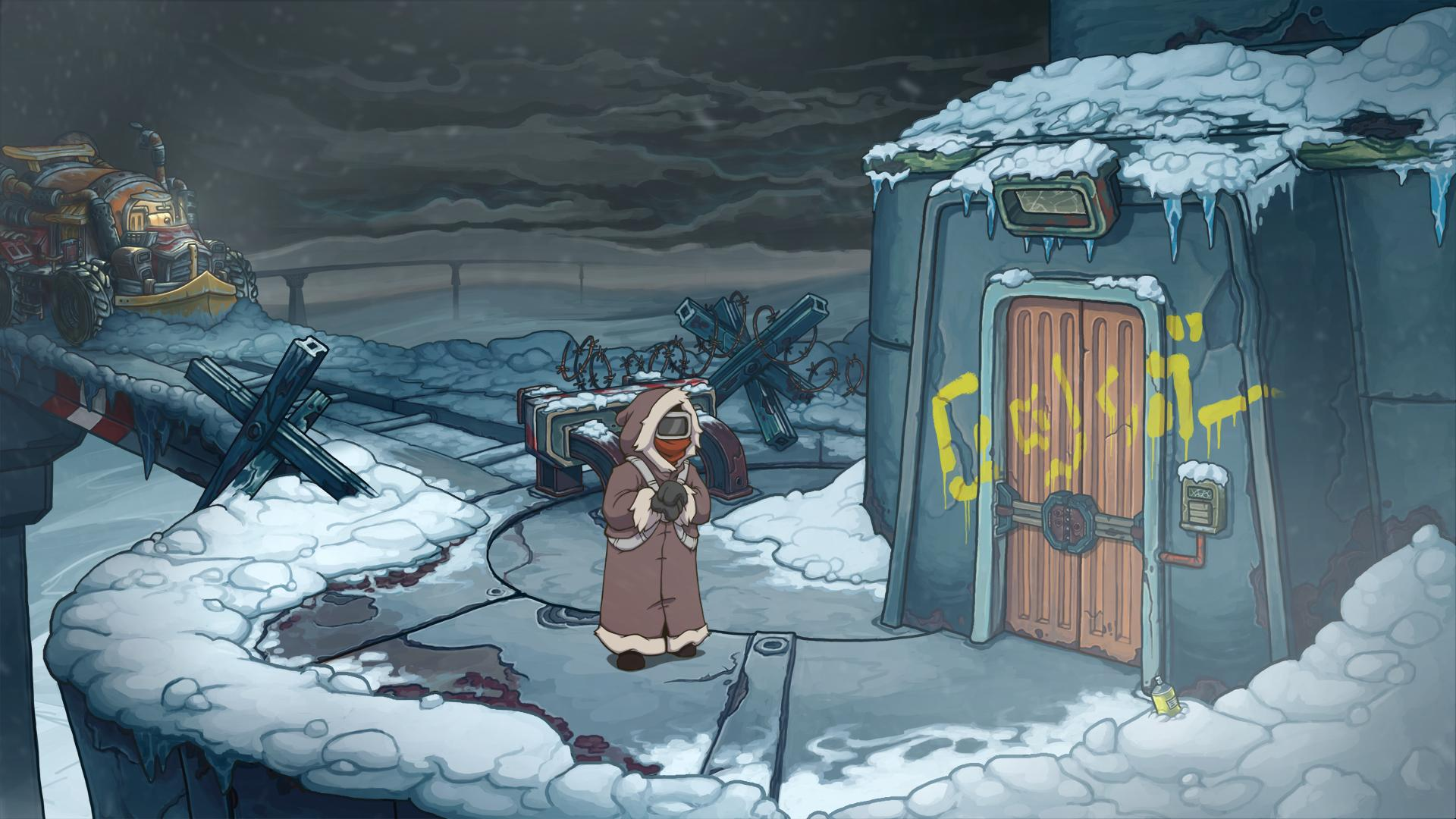 Screenshot for the game Deponia Doomsday (2016) PC | RePack от R.G. Механики