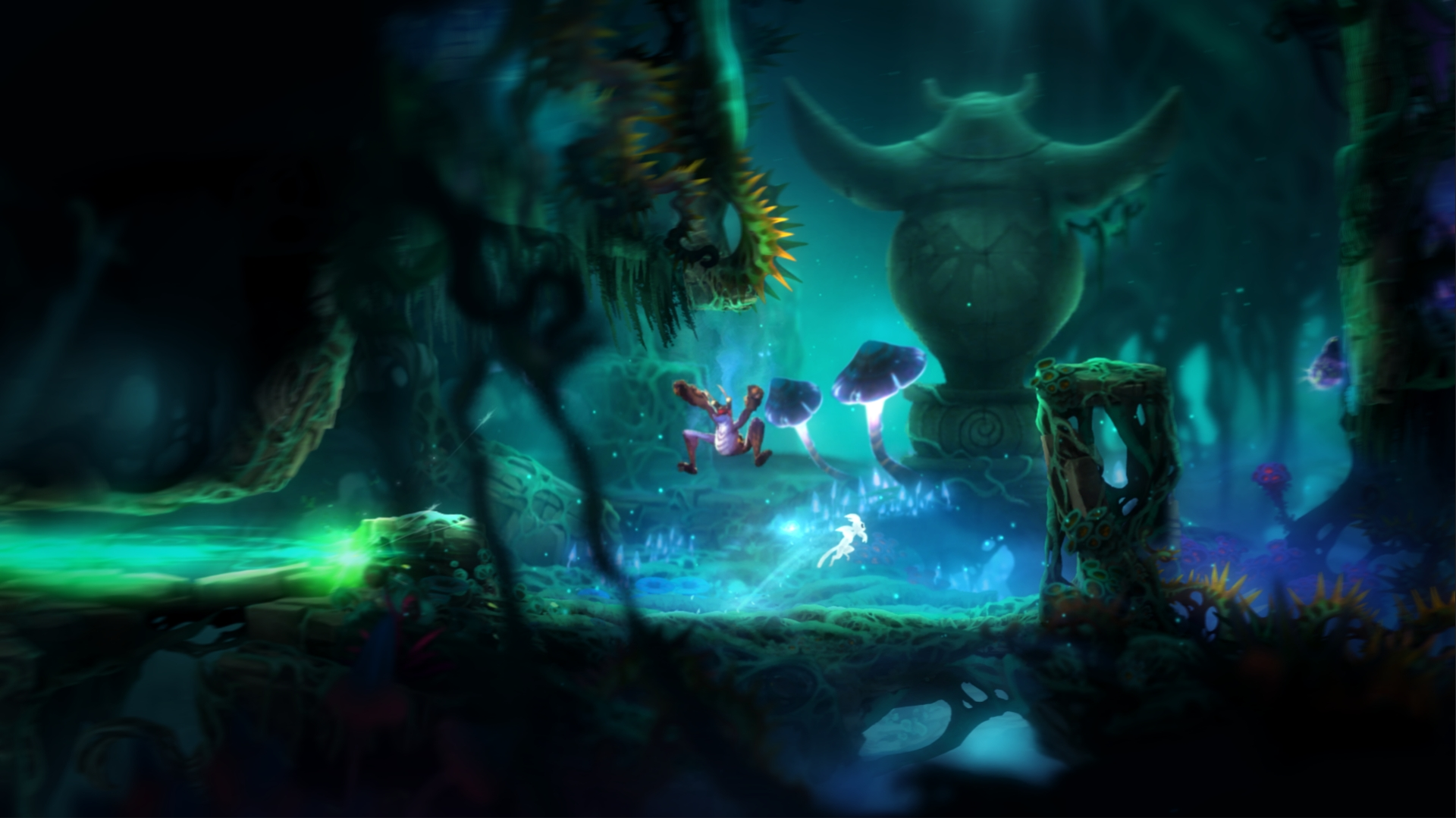 Screenshot for the game Ori and the Blind Forest: Definitive Edition (2016) RS | Repack from R.G. Mechanics