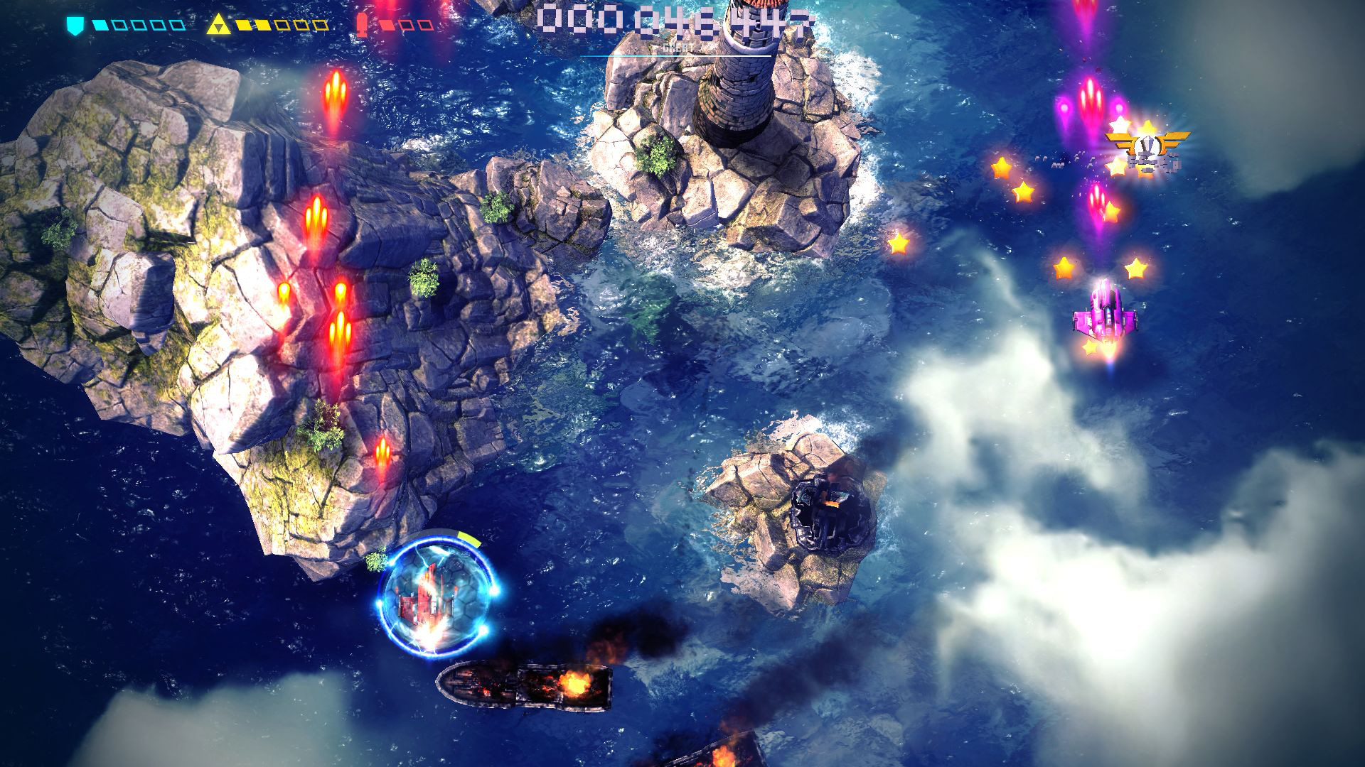 Screenshot for the game Sky Force Anniversary (2015) PC | RePack от R.G. Механики