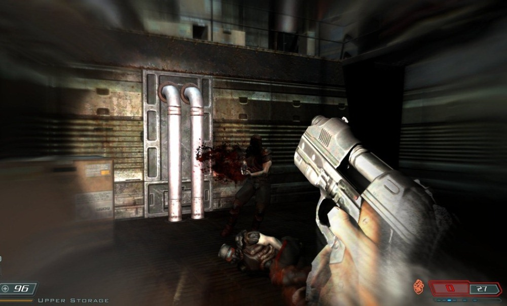 Screenshot for the game Doom 3 BFG Edition (2012) PC | RePack от R.G. Механики