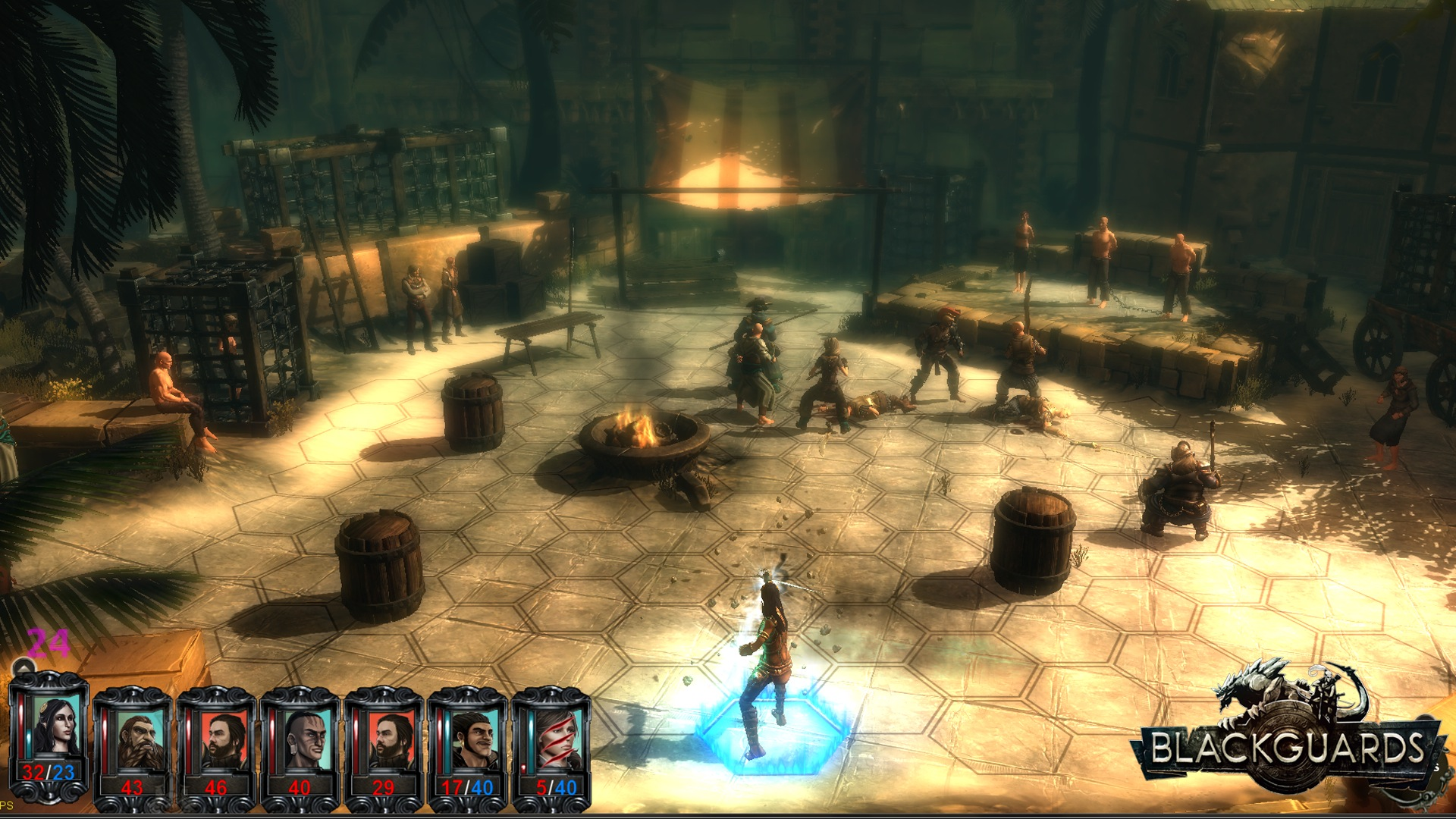 Screenshot for the game Blackguards: Deluxe Edition (2014) PC | RePack от R.G. Механики