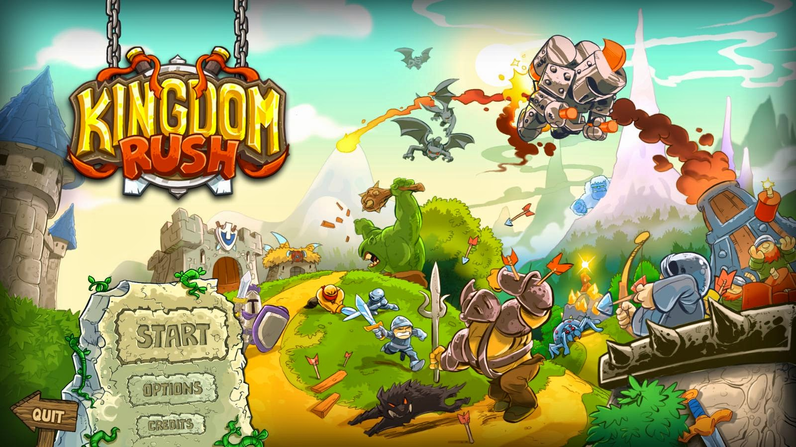 Screenshot for the game Kingdom Rush (2014) PC | RePack от R.G. Механики