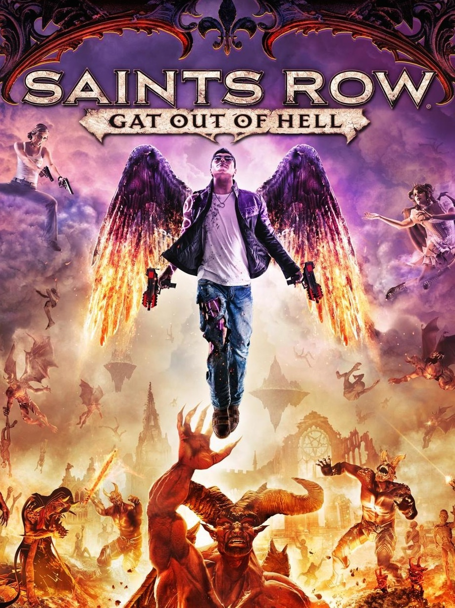 Cover Saints Row: Gat out of Hell [Update 2] (2015) PC | RePack от R.G. Механики