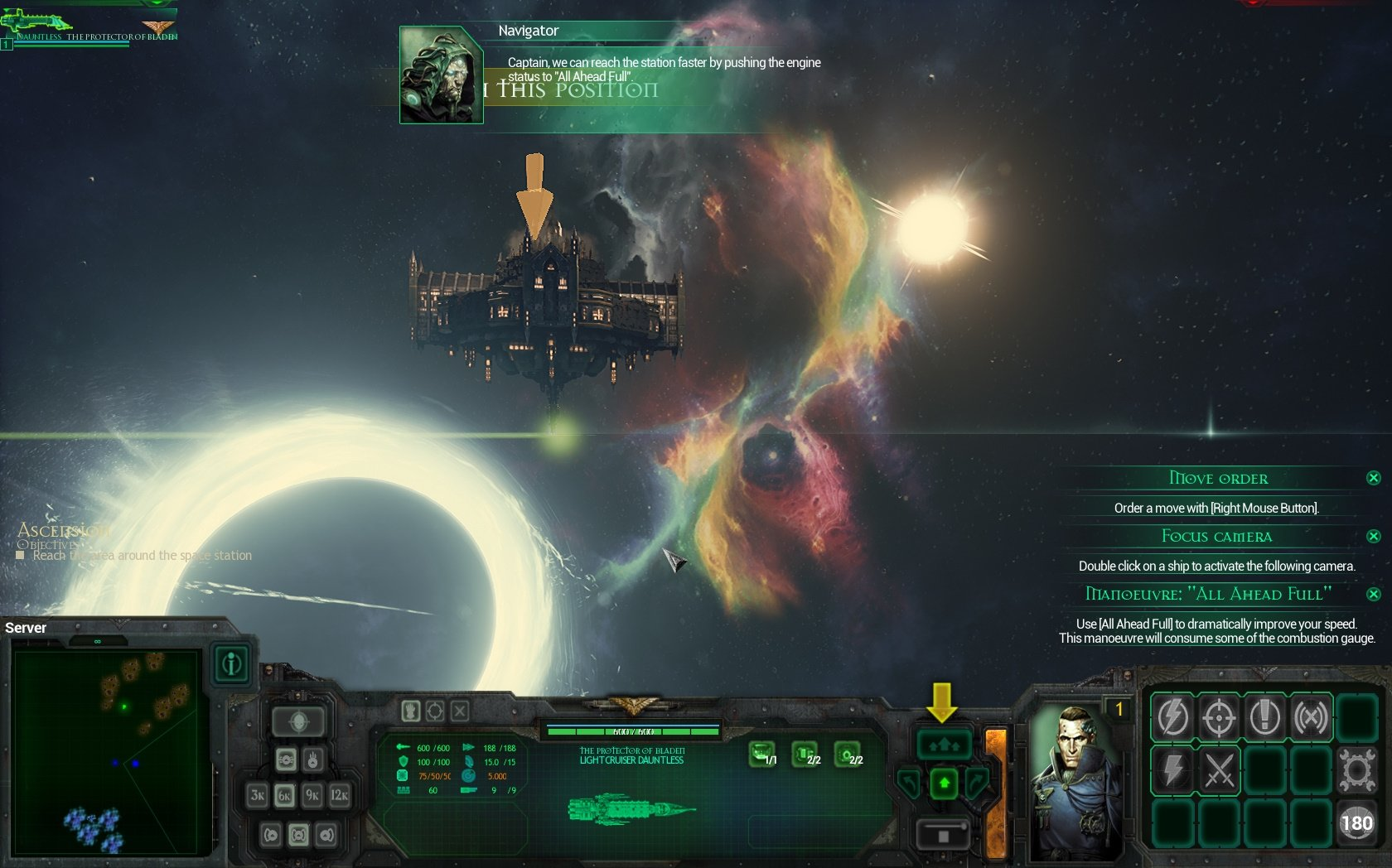Screenshot for the game Battlefleet Gothic: Armada [v 1.7.9962 + 2 DLC] (2016) PC | RePack от R.G. Механики