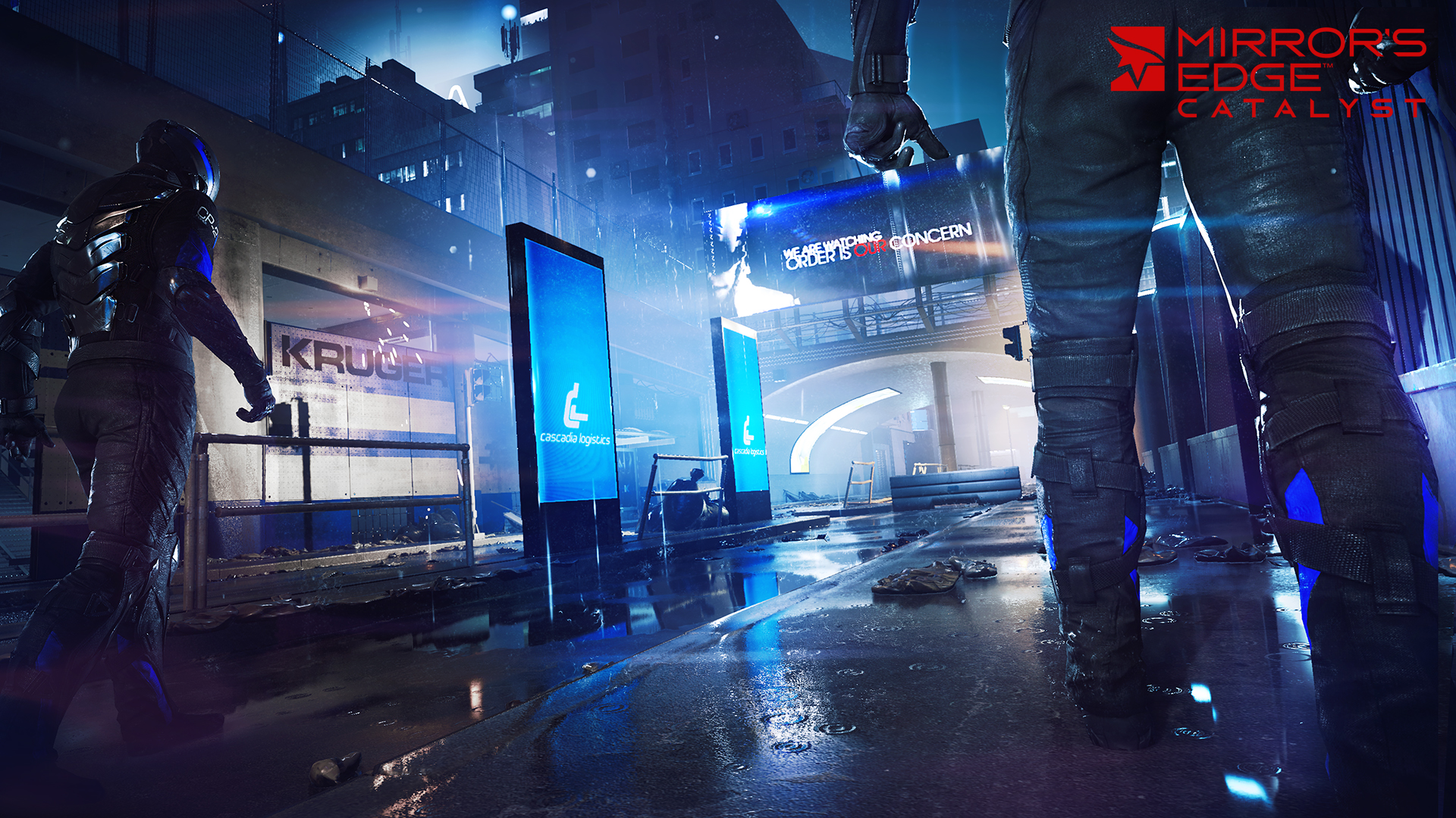 Screenshot for the game Mirror's Edge - Catalyst (2016) PC | RePack от R.G. Механики