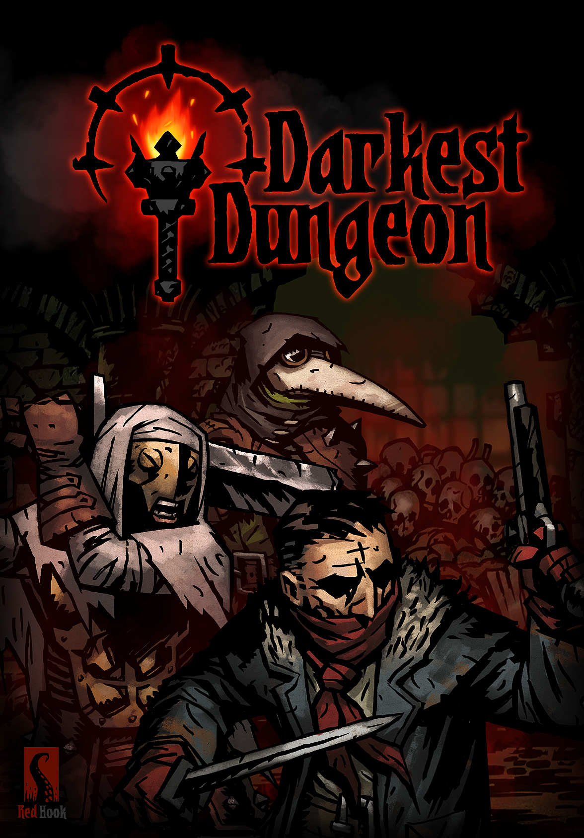 Poster Darkest Dungeon (2016)