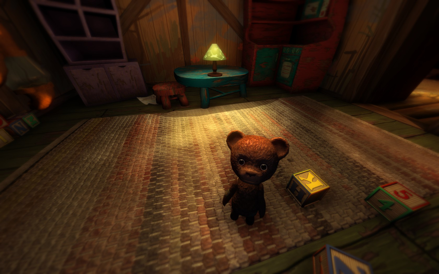 Screenshot for the game Among the Sleep [v 2.0.1 + 1 DLC] (2014) PC | RePack от R.G. Механики