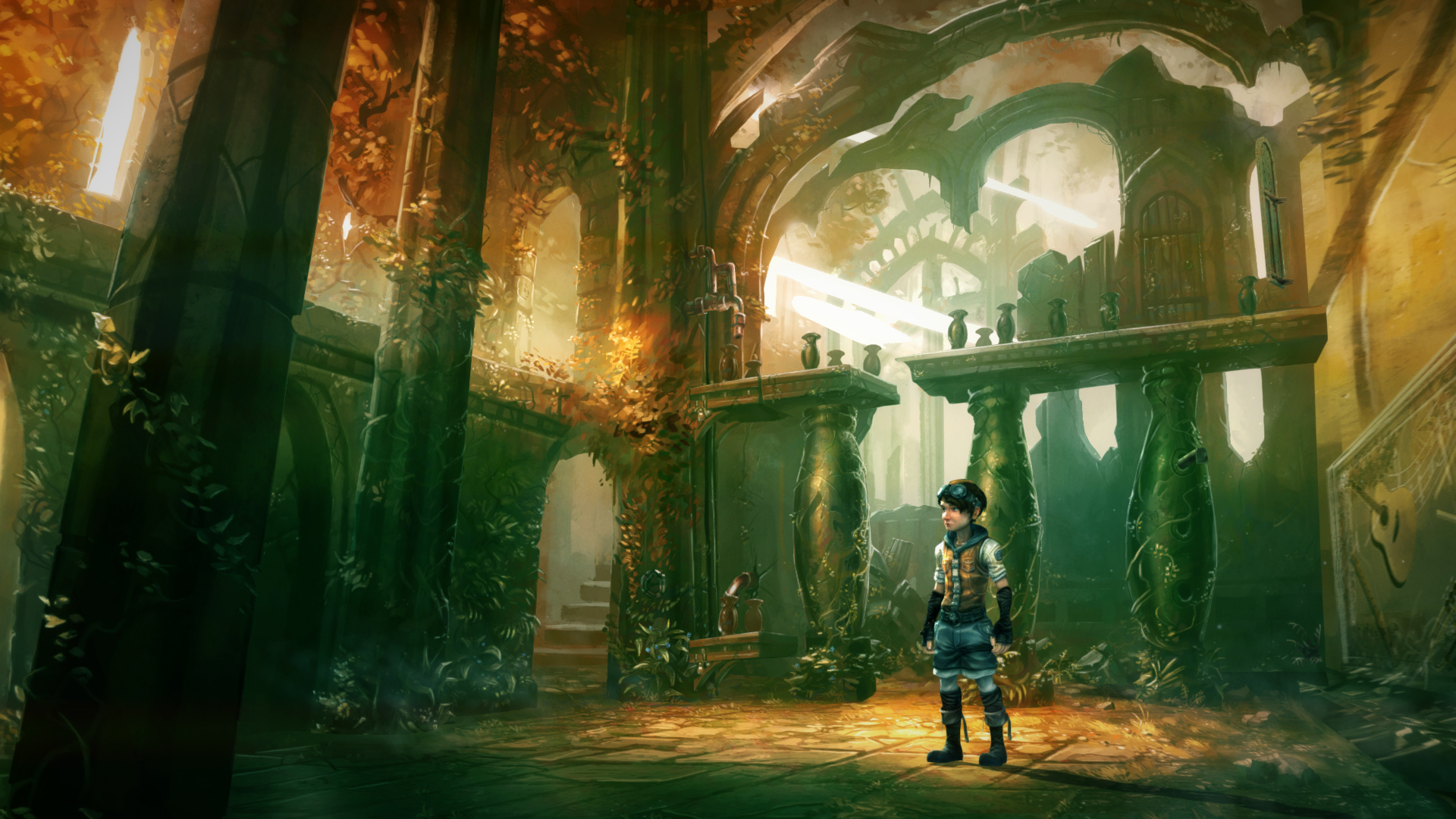 Screenshot for the game Silence: The Whispered World 2 (2016) PC | RePack от R.G. Механики