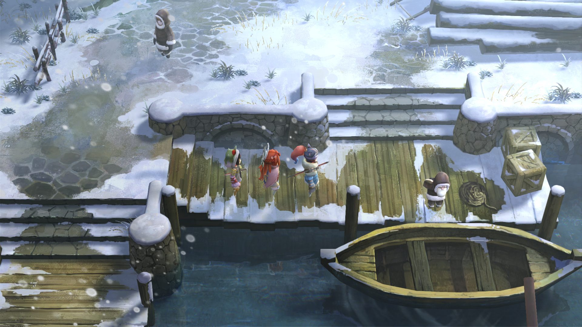 Screenshot for the game I am Setsuna (2016) PC | RePack от R.G. Механики