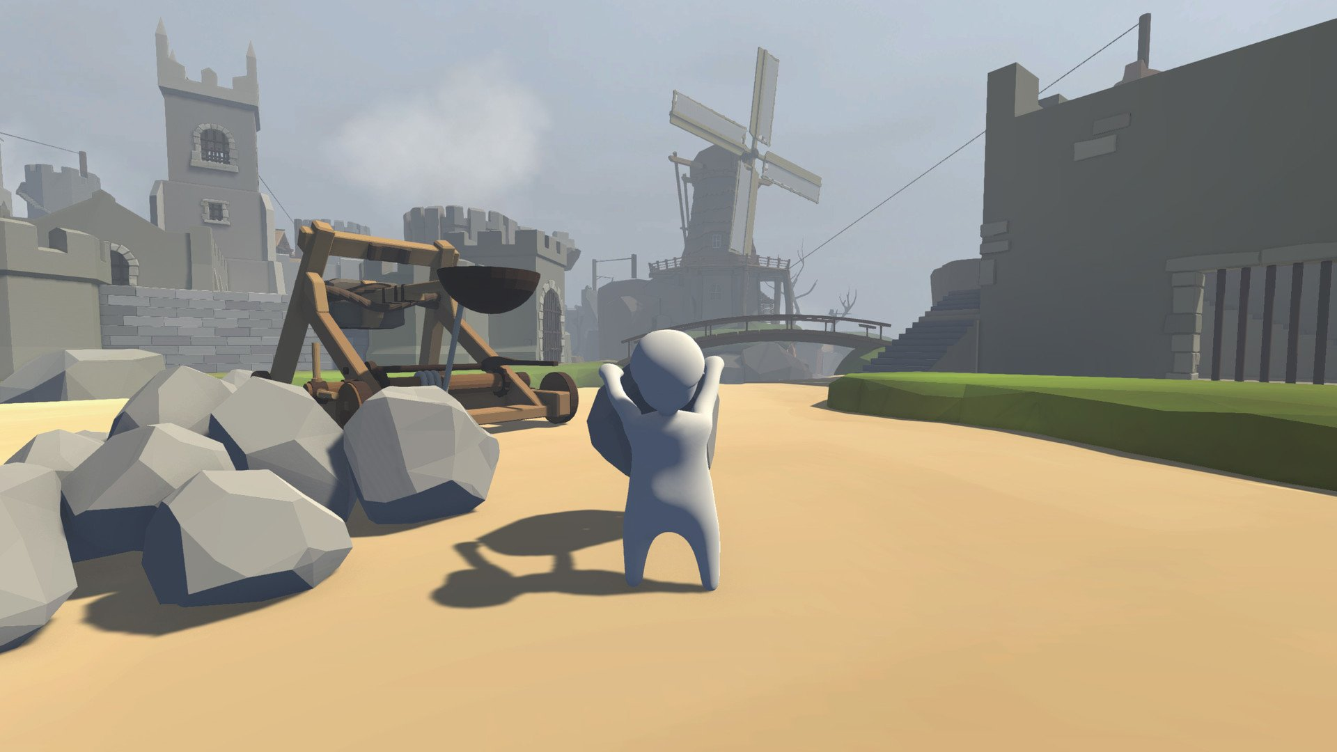 Screenshot for the game Human: Fall Flat (2016) PC | RePack by R.G. The mechanics