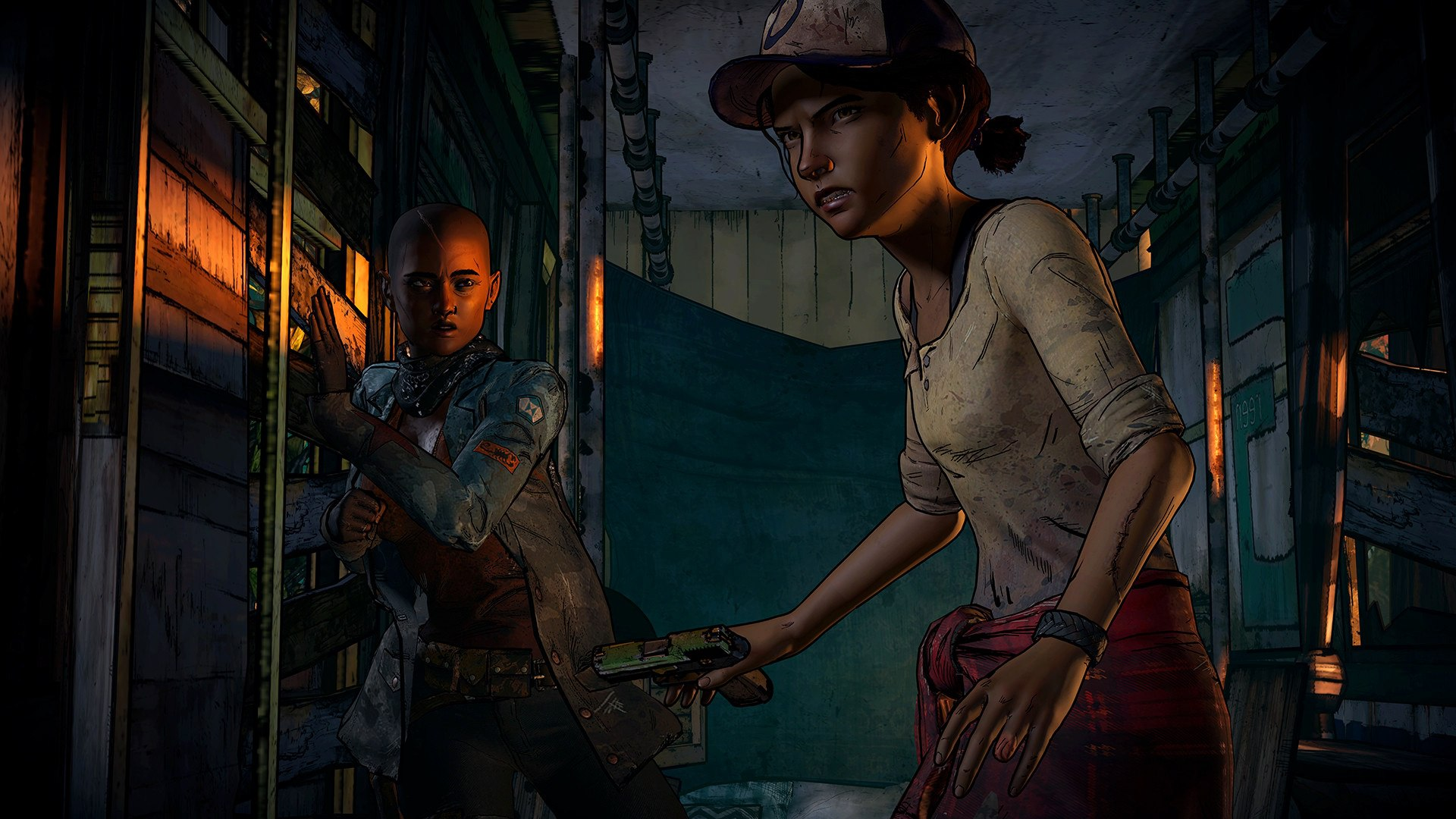 Screenshot for the game The Walking Dead: A New Frontier - Episode 1-2 (2016) PC | RePack от R.G. Механики