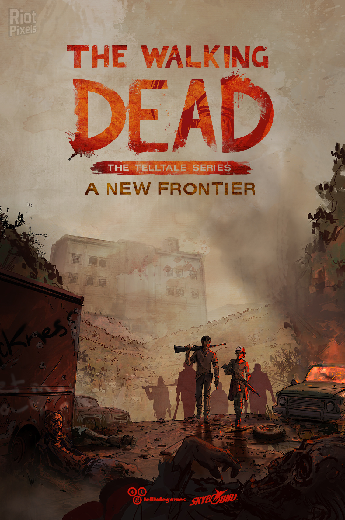 Cover The Walking Dead: A New Frontier - Episode 1-2 (2016) PC | RePack от R.G. Механики
