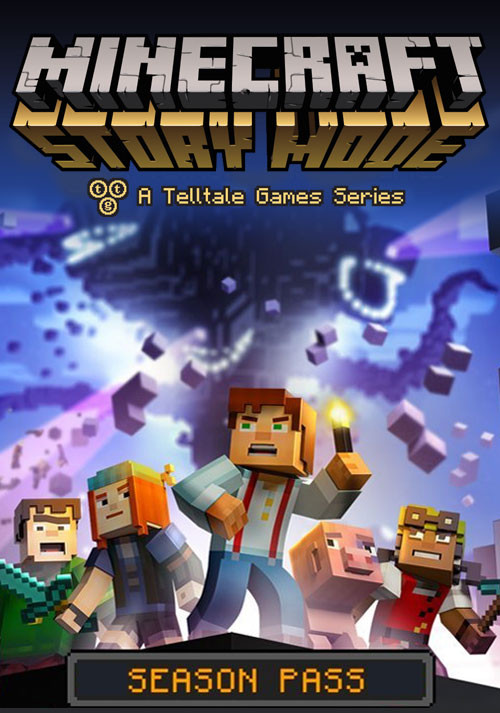 Cover Minecraft: Story Mode - A Telltale Games Series. Episode 1-8 (2015) PC | RePack от R.G. Механики