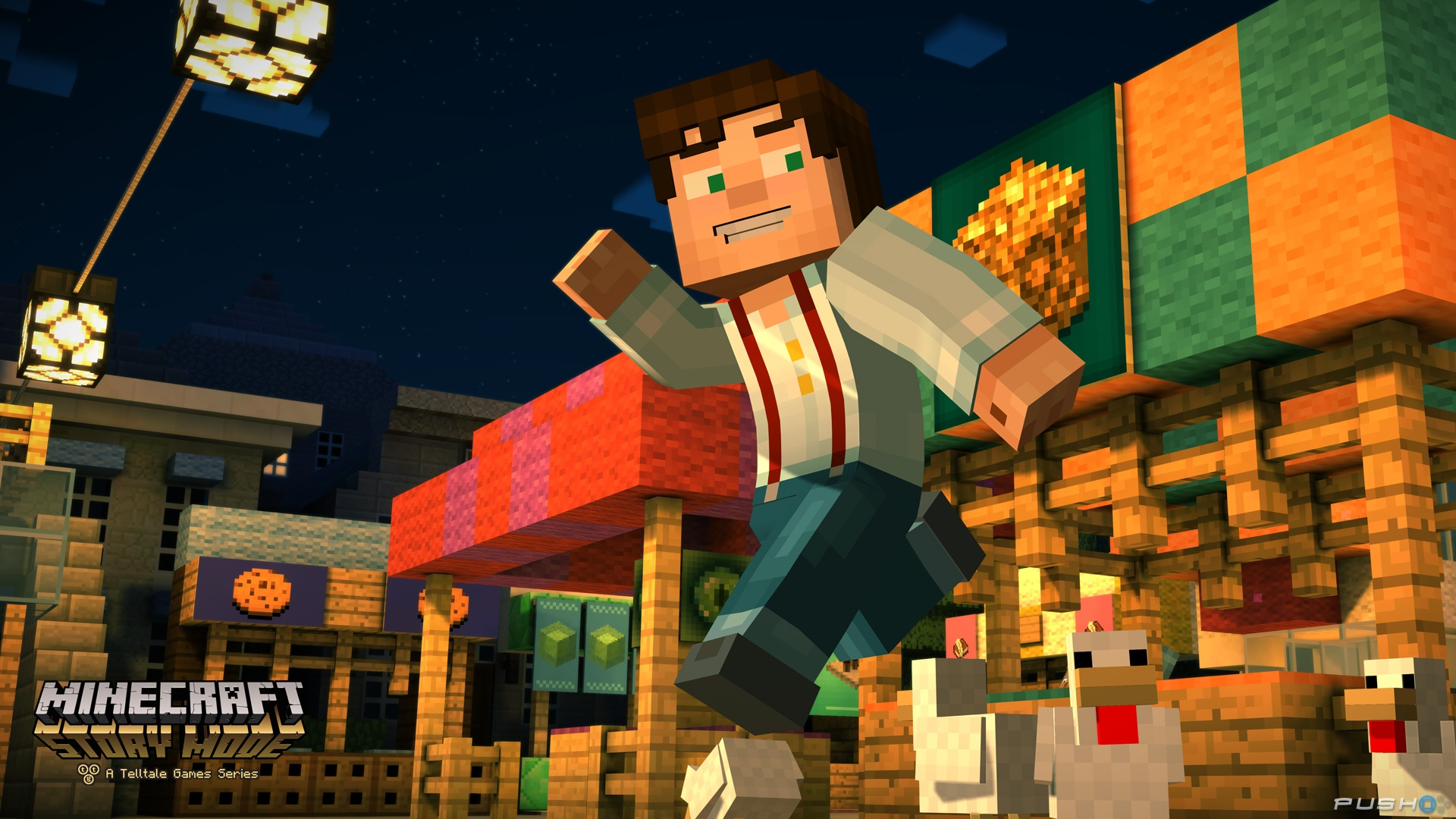 Screenshot for the game Minecraft: Story Mode - A Telltale Games Series. Episode 1-8 (2015) PC | RePack от R.G. Механики