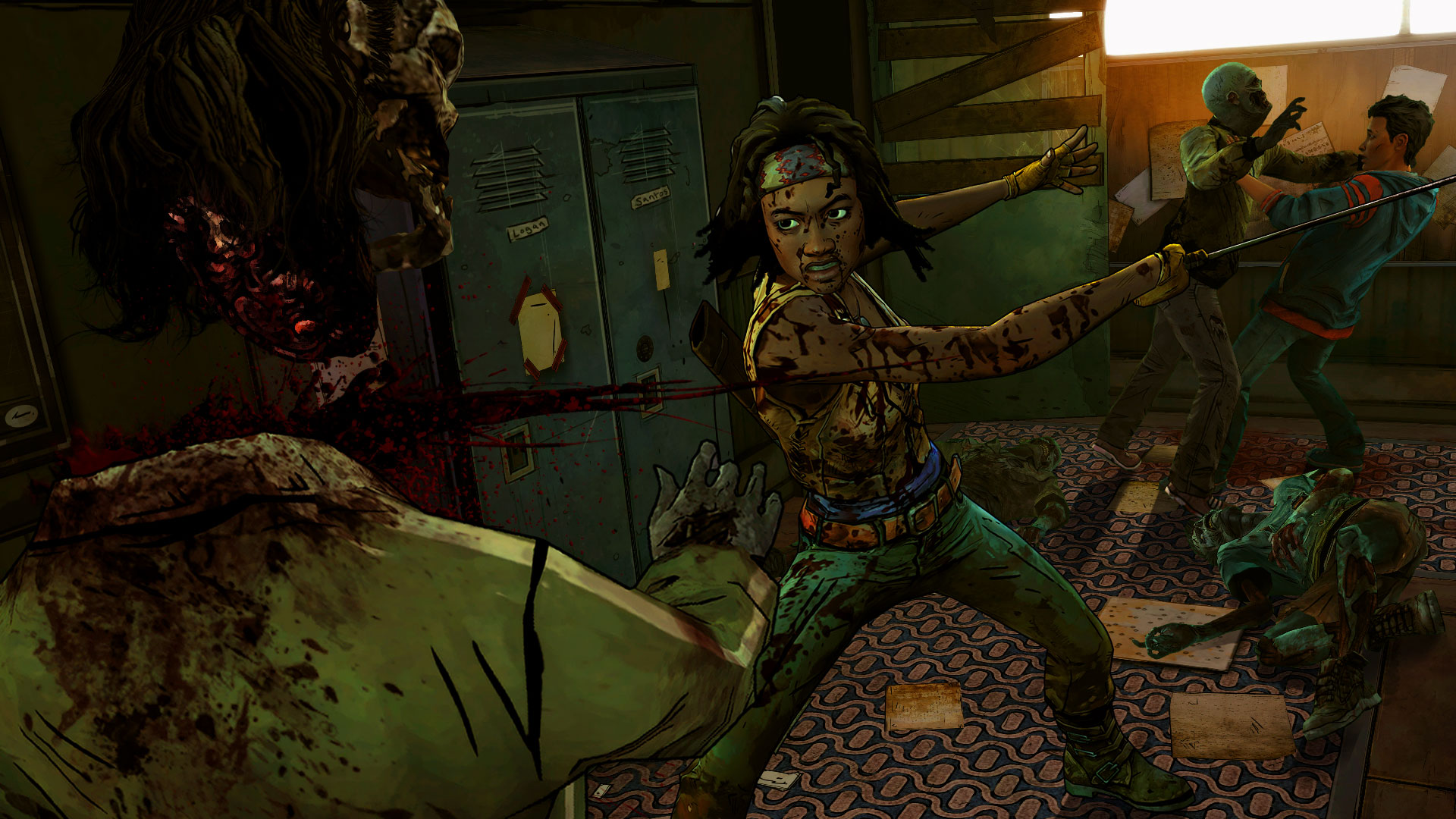 Screenshot for the game The Walking Dead: Michonne - Episode 1-3 (2016) PC | RePack от R.G. Механики