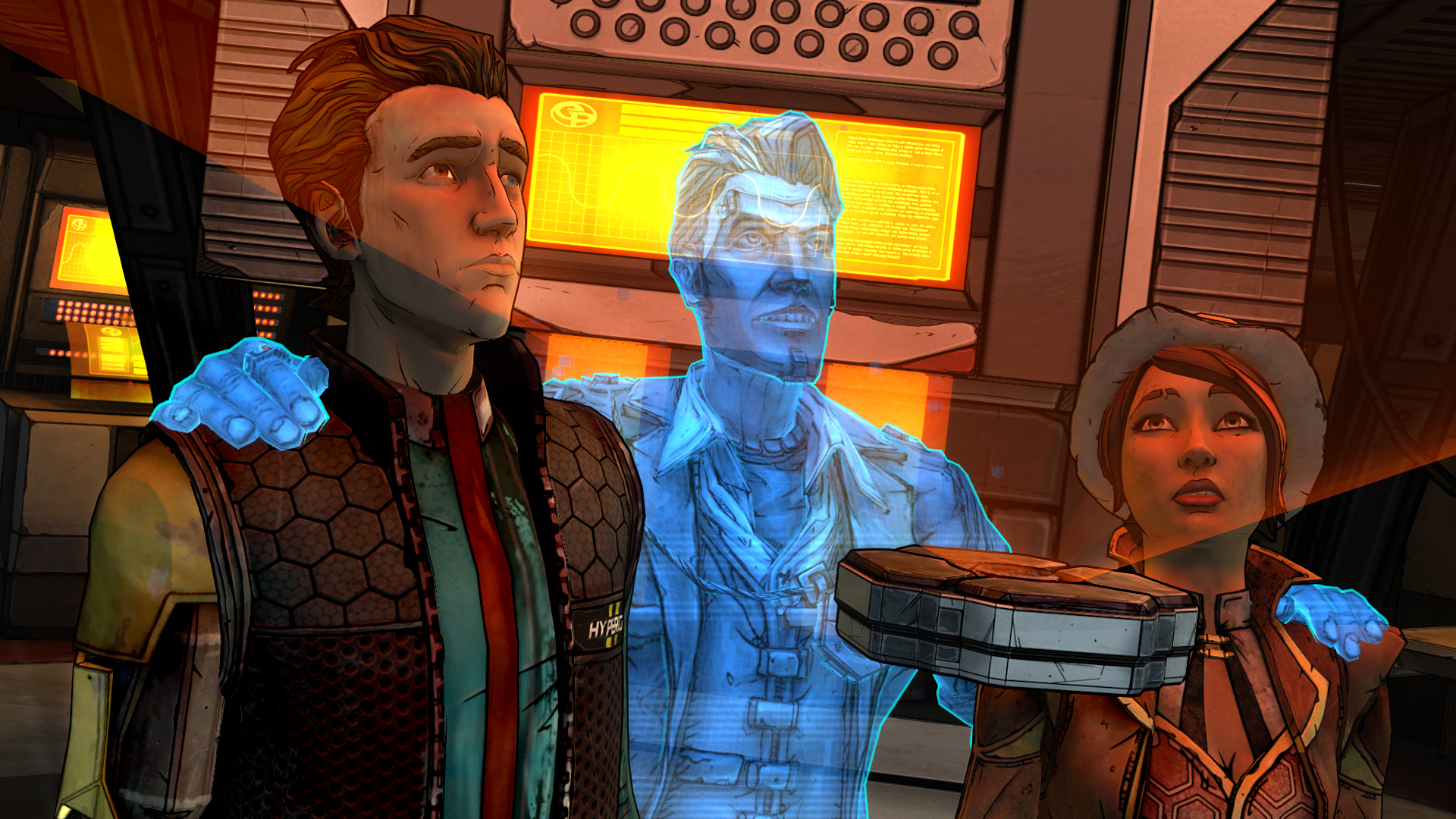 Screenshot for the game Tales from the Borderlands: Episode 1-5 (2014) PC | RePack от R.G. Механики