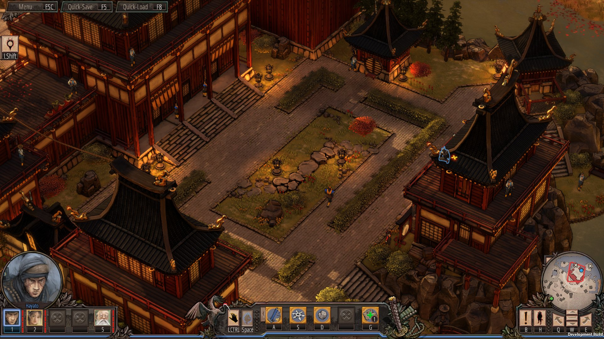 Screenshot for the game Shadow Tactics: Blades of the Shogun [v 1.2.1.f] (2016) PC | RePack от R.G. Механики